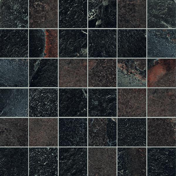 highline, mosaik, brun
